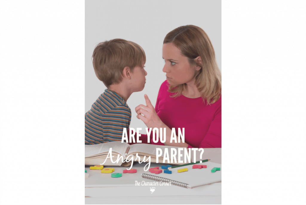 Are you an angry parent