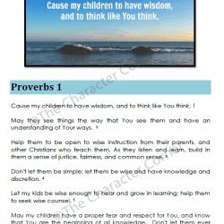 Praying Through Proverbs