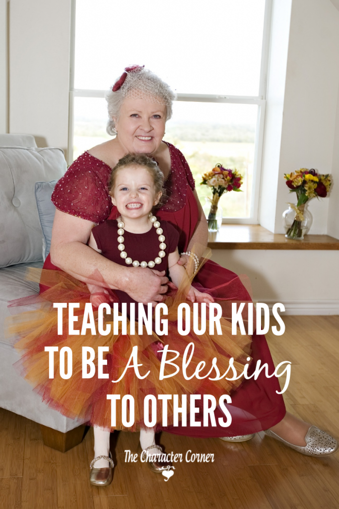 teaching children to be a blessing