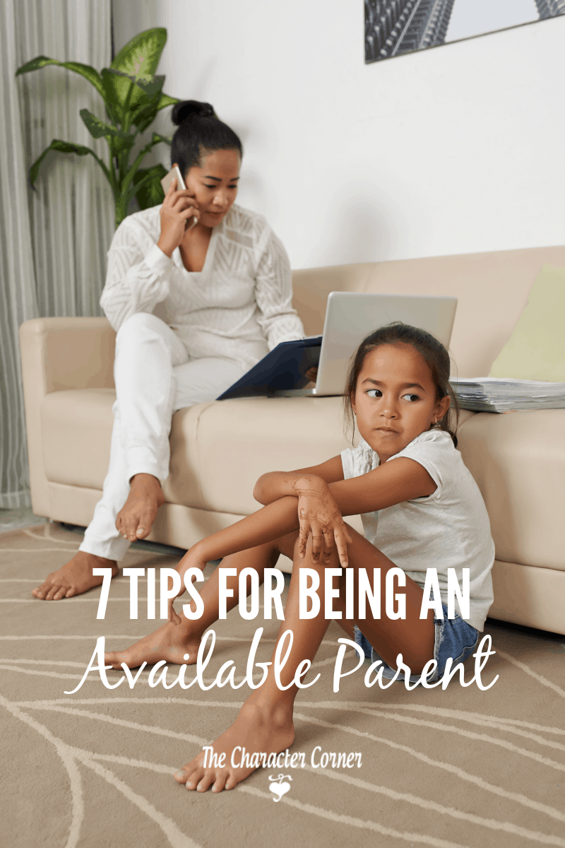 being an available parent