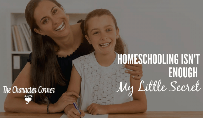 Homeschooling Isn't Enough (My Little Secret)