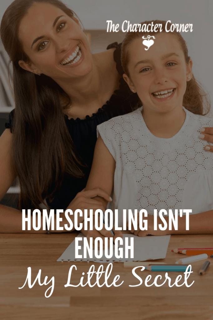 homeschooling isn't enough