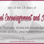 14 Days Of Homeschool Encouragement & Inspiration