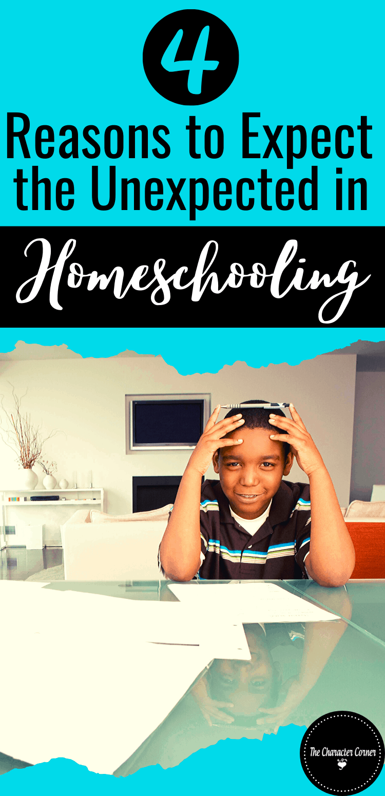 Stressed and frustrated 4 Reasons To Expect the Unexpected in Homeschooling