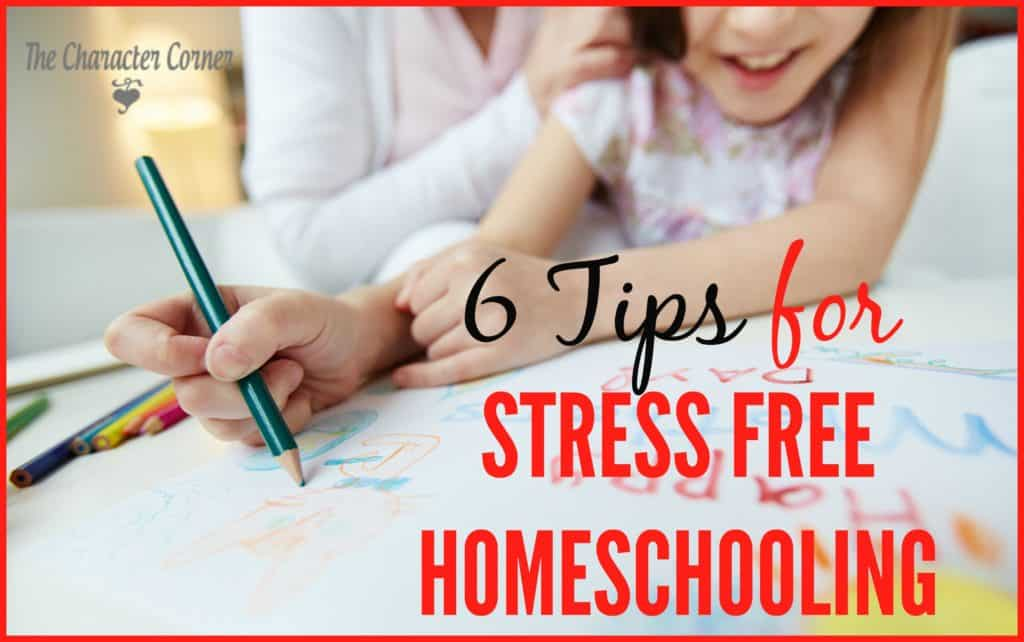 stress free homeschooling
