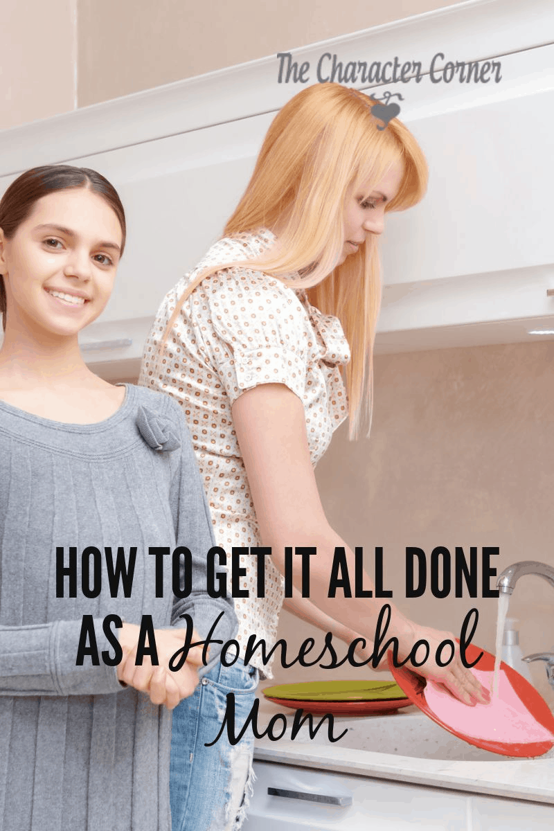 Get All As: As A Homeschool Mom, How Do I Get It ALL Done?!
