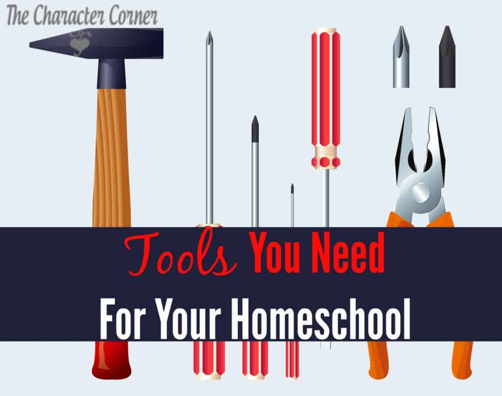 TOOLS you need for homeschoolng