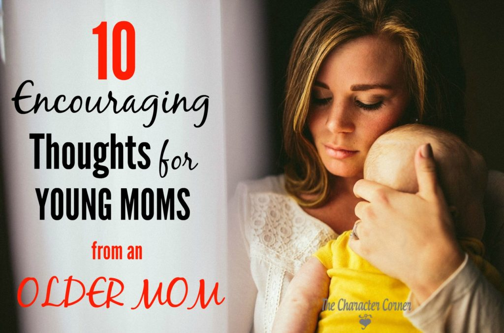 encouraging thoughts for young moms