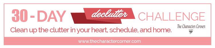 Declutter your heart