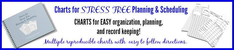 Charts for stress free planning