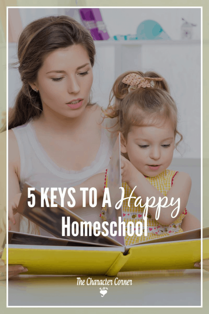 Keys to a happy homeschool
