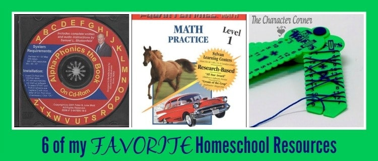 favorite homeschooling resources