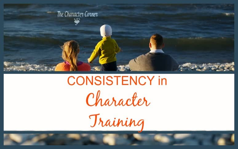 Consistency in character training