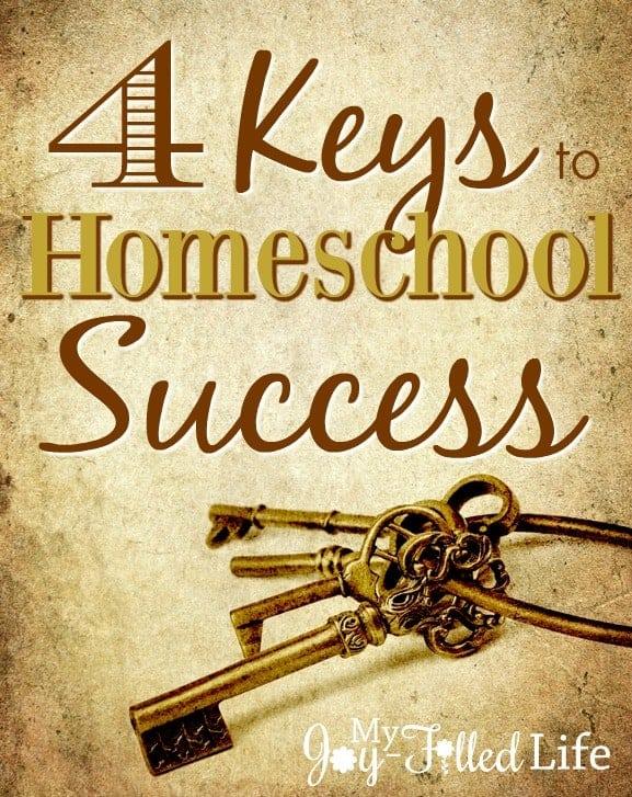 keys to homeschool success