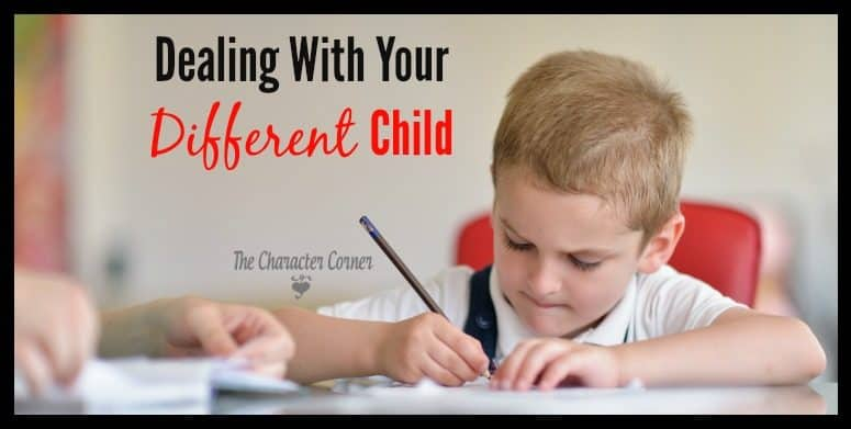 Dealing With Your Different Child