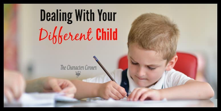 Dealing with a child who is different