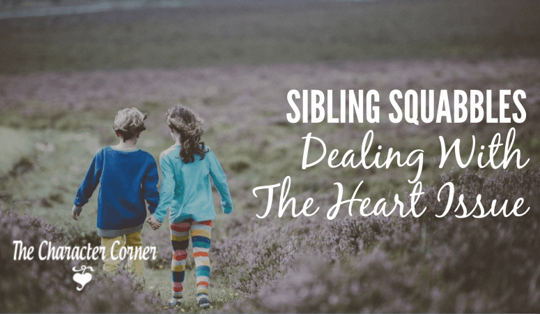 Sibling Squabbles – Dealing With The Heart Issue