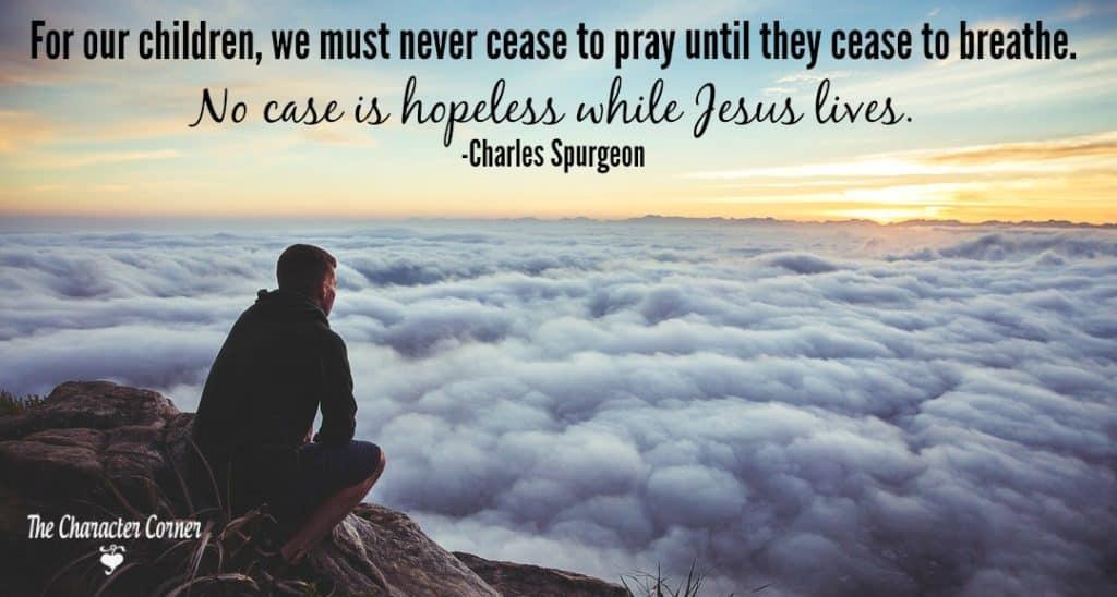 Always pray for children