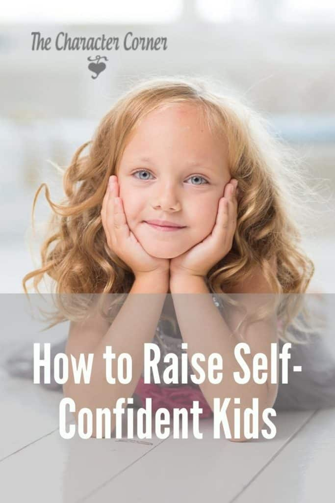raise self-confidence in your child