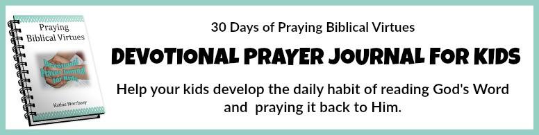Devotional Prayer Journal for Kids