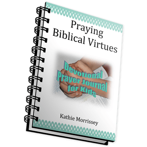 Kids' Devotional Prayer Journal – Praying Biblical Virtues