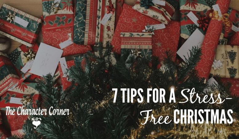 7 Tips To A Stress Free Christmas Season