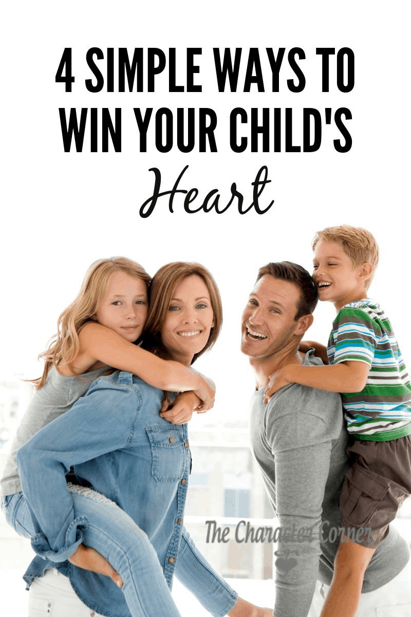 ways to win your child's heart