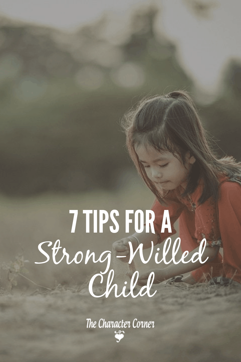 young girl playing outside 7tips for parenting a strong willed child