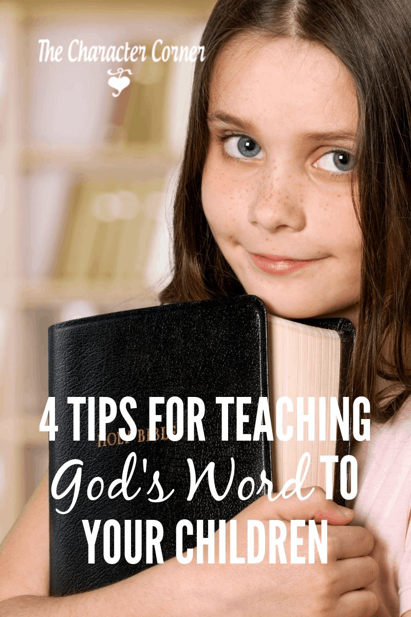teaching God's Word to your children