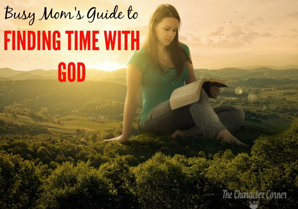 Finding time with God as a busy mom