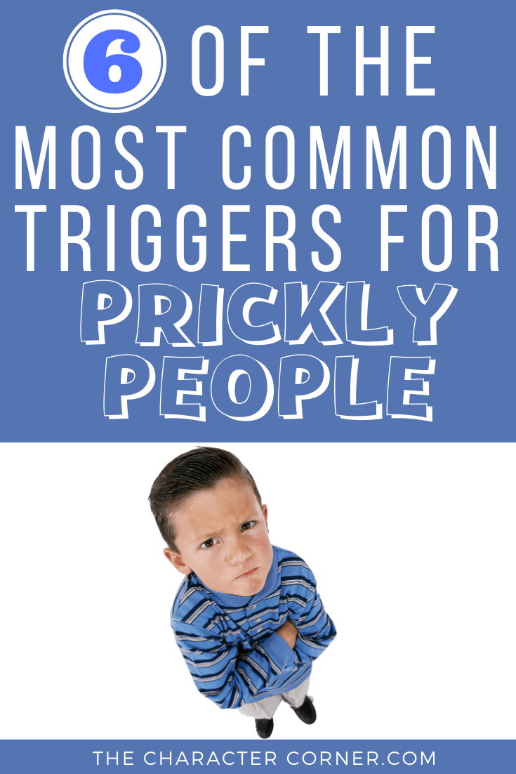 upset boy 6 Of The Most Common Triggers For Prickly People