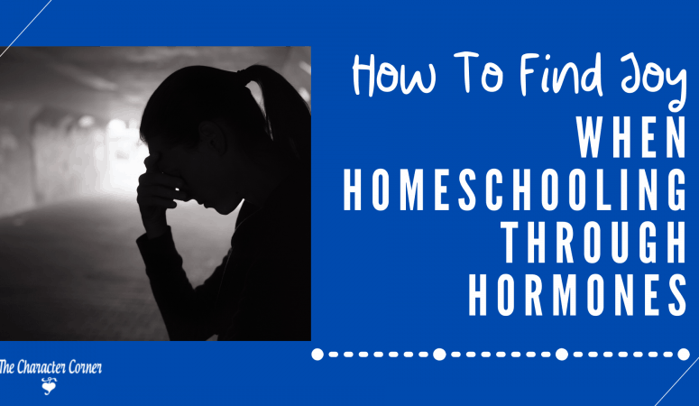 How To Find Joy When Homeschooling Through Hormones