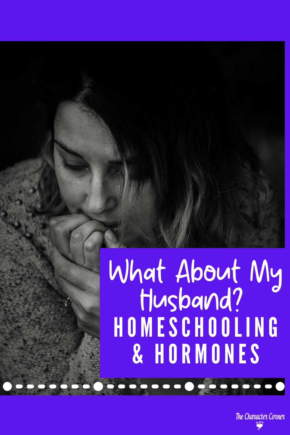 What About My Husband Homeschooling Hormones