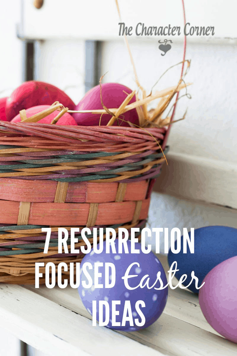 7 resurrection focused easter ideas the character corner here are seven fun free ideas as well as a set of printable easter bible verses negle Gallery
