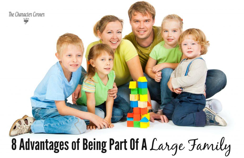 Large family advantages
