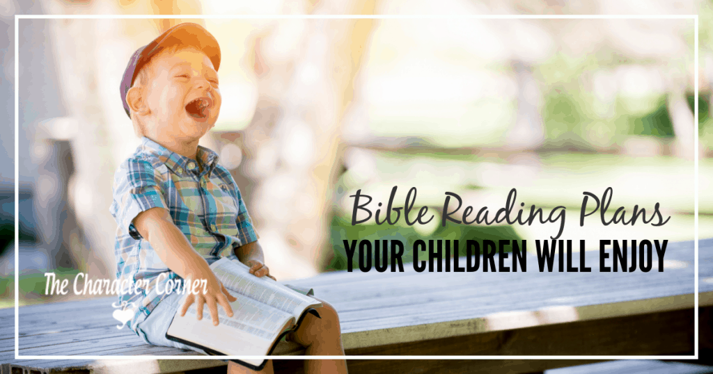 Children's bible reading plans