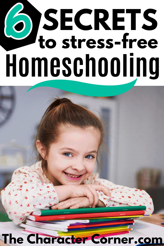 Happy Homeschooling Girls 6 secrets of a stress free homeschool