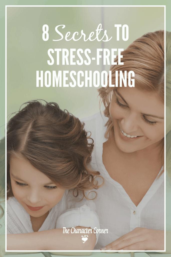 stress-free homeschooling