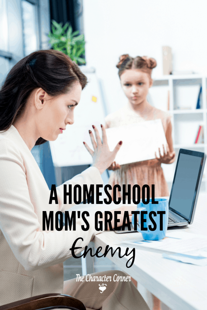 homeschool mom's greatest enemy