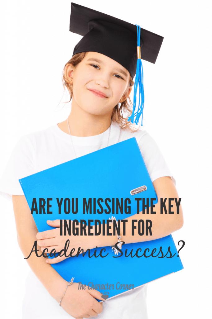 Key ingredient for academic success