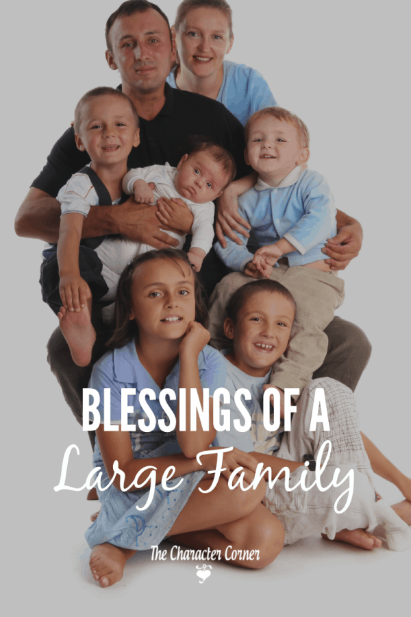 Blessings of a large family