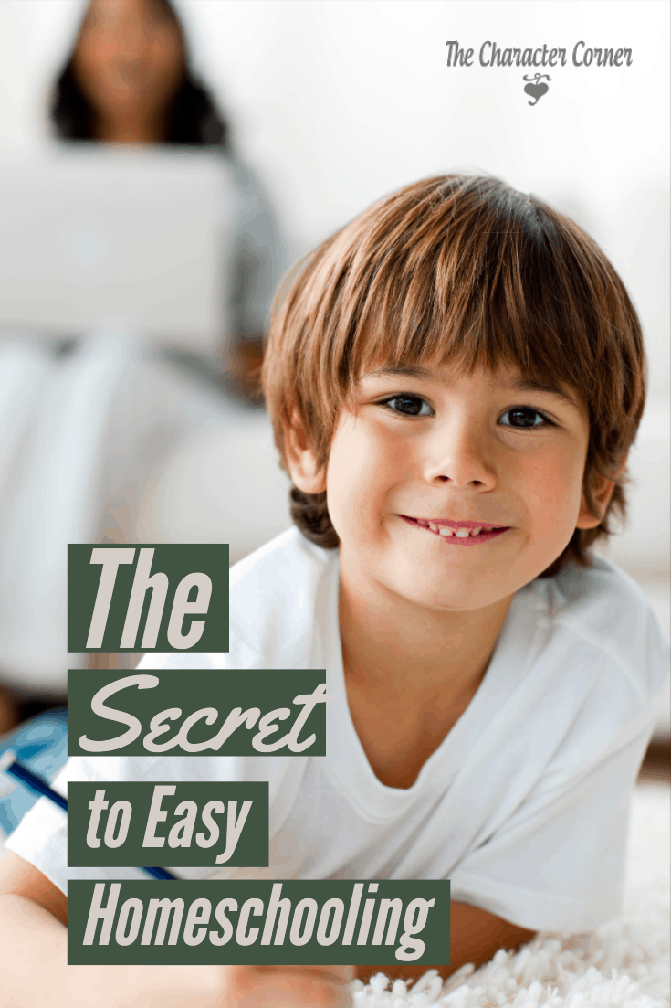 Learn the secret to easy homeschooling