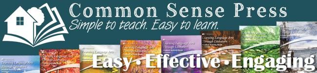 Common Sense Press Homeschool Curriculum