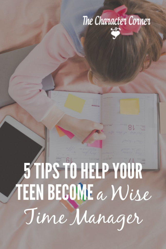 tips to help your teen become a better time manager