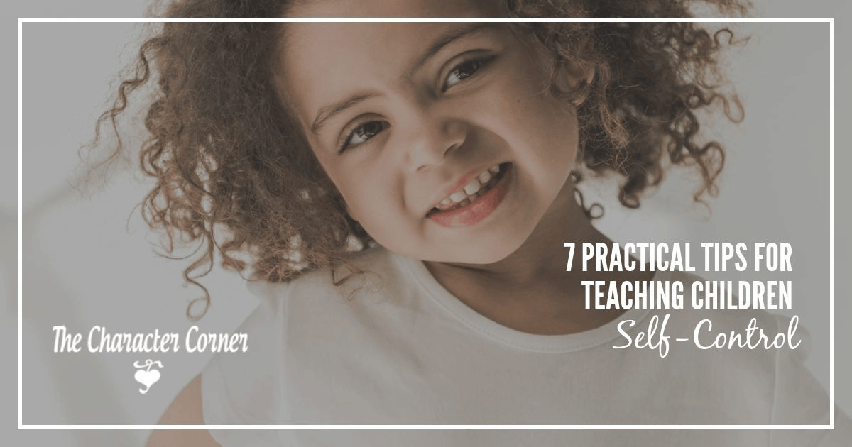 how to teach a child self control