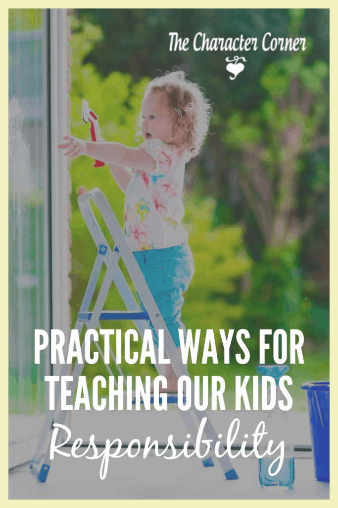 teaching our kids responsibility