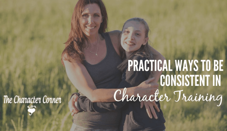 Practical Ways To Be Consistent in Character Training
