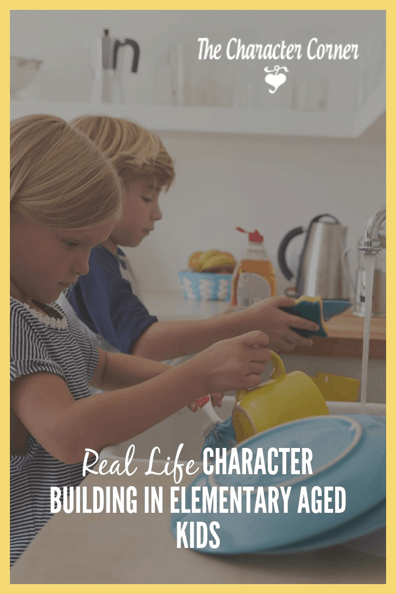 character building in elementary aged kids
