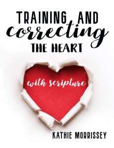 Training & Correcting the heart with Scripture