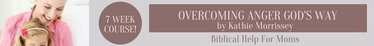 overcoming anger God's way
